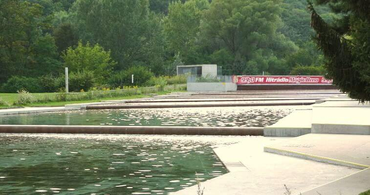 Riviera outdoor swimming complex awaits reconstruction brno daily for A swimming pool is 50m long and 20m wide