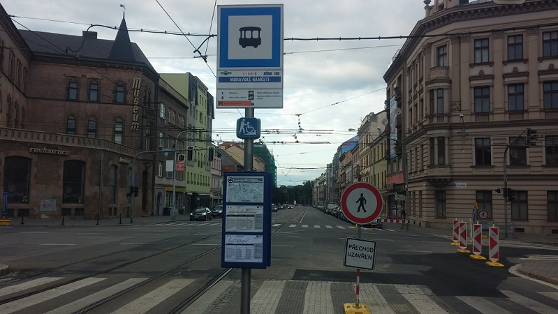 Reparations will limit the traffic in Brno-South for a month