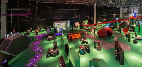 The exhibition Circus Mechanic combines art with science and technology