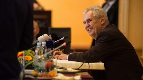 Zeman facing problems with re-election – foreign press