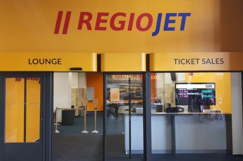RegioJet opens new connections and a waiting room in Brno Central Station