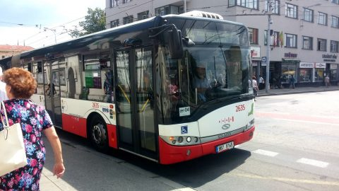 60 new CNG buses with air conditioning to operate in Brno