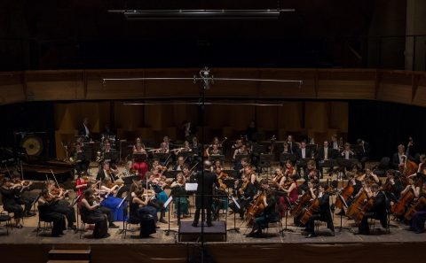 11/7 Dutch student symphony orchestra and choir at Jakubské náměstí