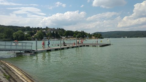 Water in Brno's Reservoir no longer suitable for bathing