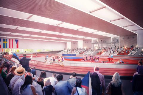 Athletics Hall At Campus To Include 170 Parking Spaces