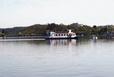 DPMB boats on Brno Dam to go only as far as Veveří Castle due to continuing droughts