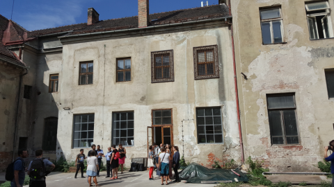 Community Center Opens in Former Penitentiary on Bratislavská