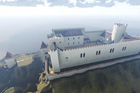 Visualisation: Take a Walk Around Špilberk Castle in the 14th Century