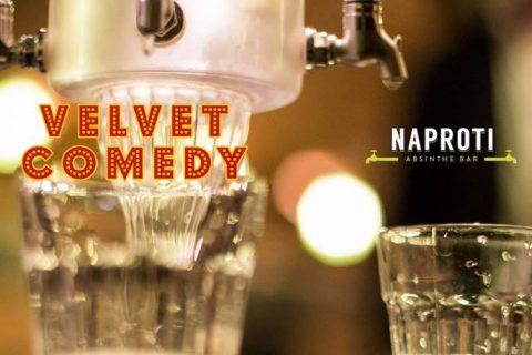 Review: Velvet Comedy @ Naproti 15/10