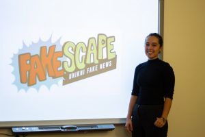 Fakescape: An Educational Game Developed By Czech Students To Counter Fake News Will Compete in a Facebook-sponsored Competition in Washington