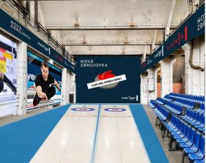 "Brno Council Selects ""New Zbrojovka"" as the New Home for Brno's Curling Tracks"