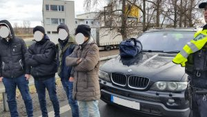 Car Intercepted Crossing Border from Slovakia into Czech Republic Carrying Iraqi Refugees