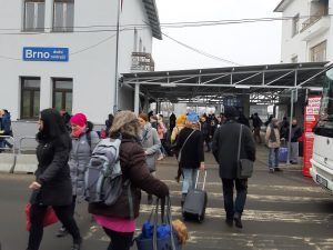Reality Check: Travelling from the Temporary Station, Dolni Nadrazi