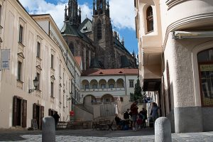Capuchin Square Attracts with a Beautiful View on Petrov Cathedral, Picturesque Bishop's Courtyard, and Mummified Monks