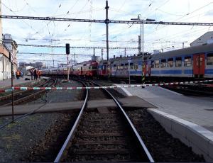Train Crash Near Brno Hlavní nádraží this Morning, 14 People in Hospital Care