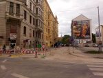 Burst Water Pipe on Bratislavská Causes Street Closure
