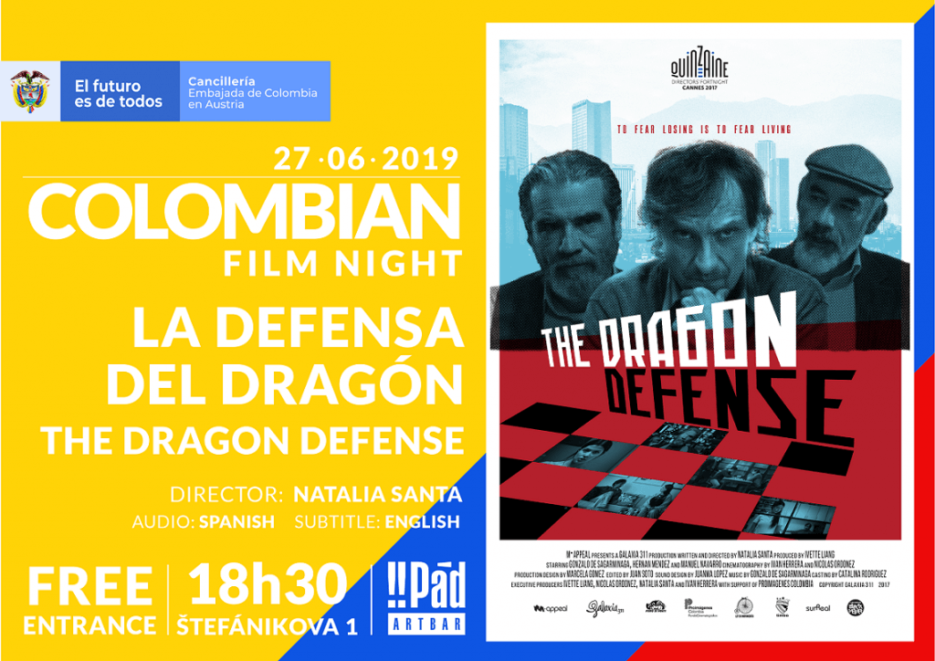 """""""The Dragon Defense"""": a Story About Friends for Colombian Film Night"""
