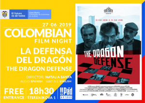 """The Dragon Defense"": a Story About Friends for Colombian Film Night"