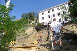 City Builds Staircase in Response to Heavily Used Path to Denisovy Sady from Nádražní
