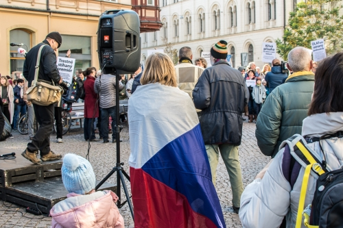 Malinovského náměstí in Brno, November 17