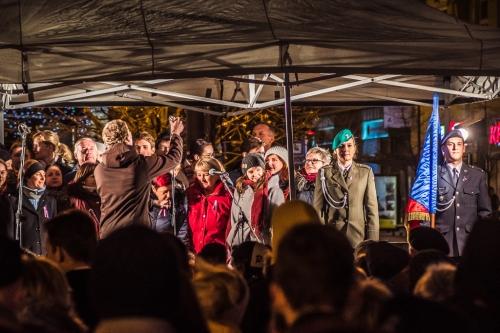 Náměstí Svobody in Brno, November 17