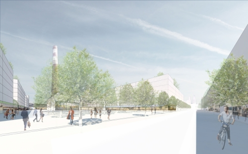Nova Zbrojovka Brno, Zone 5 by Pelčák a partner architekti