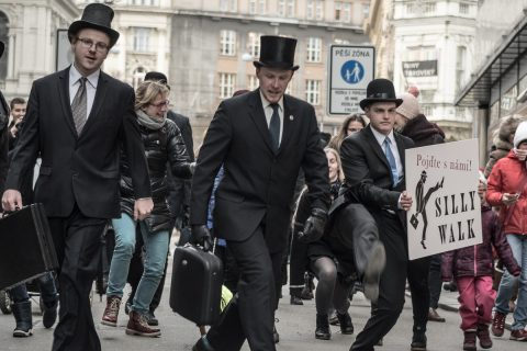 Brno To Celebrate International Day of Silly Walks This Saturday – Ninth Year of Silly Walks through the City of Brno