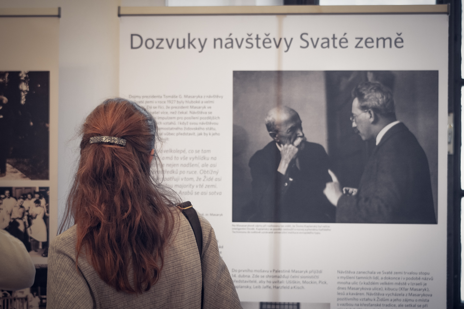 """Masaryk and The Holy Land"""" Exhibition To Document TGM's"""