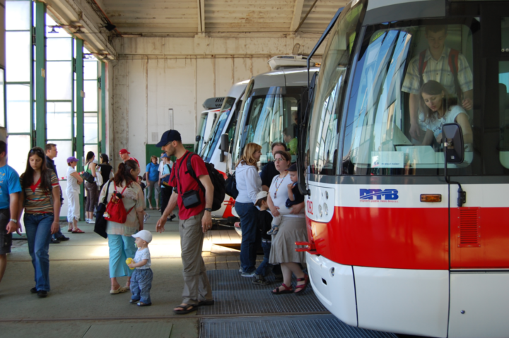 Weekend Tip: Open Day at Medlánky Depot for Brno's Public