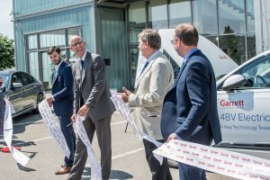 Brno's Garrett R&D Facility Introduces Latest Turbocharging Technologies