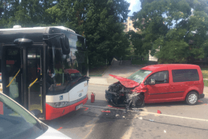 Six Injured In A Bus Accident In Bohunice On Wednesday