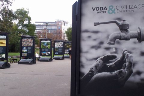 Dramatic New Photo-Exhibition on Moravské Namesti To Highlight Our Society's Fragile Relationship With Water