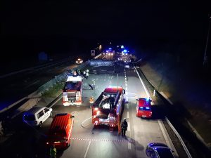 11 Injured And One Dead In Multi-Car Pile-Up On Prague-Brno Highway