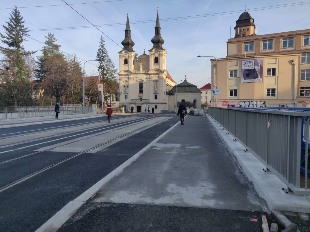 In Brief: Zábrdovický Bridge to Reopen On The Last Day of November