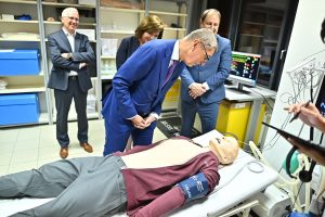 Andrej Babiš Promises More Than CZK Three Billion To Brno's Hospitals During Visit To The City