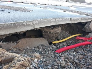 Traffic Near Pisarecky Tunnel Diverted Due To Burst in Water Pipe