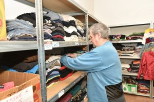 Community Clothes Closet Helps Homeless People; Greatest Need Is For Men's Clothing