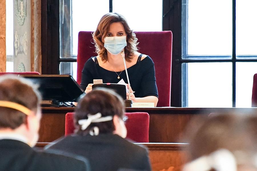 Brno Mayor Marketa Vaňková (ODS) welcomed the approved measures. Photo