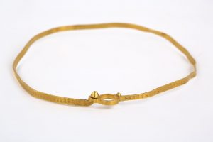 Gold Necklace From Roman Times Found In a Forest Near Brno