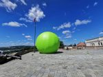In Photos: 7 Meter Pea To Tour Brno to Mark Gregor Mendel's 200th Birthday