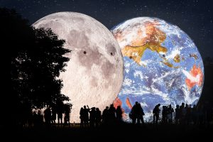 The Earth Returns To Kraví Hora – This Time With The Moon
