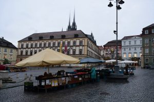 Zelňák Farmers' Market Slows Down as Covid-19 Restrictions Tighten