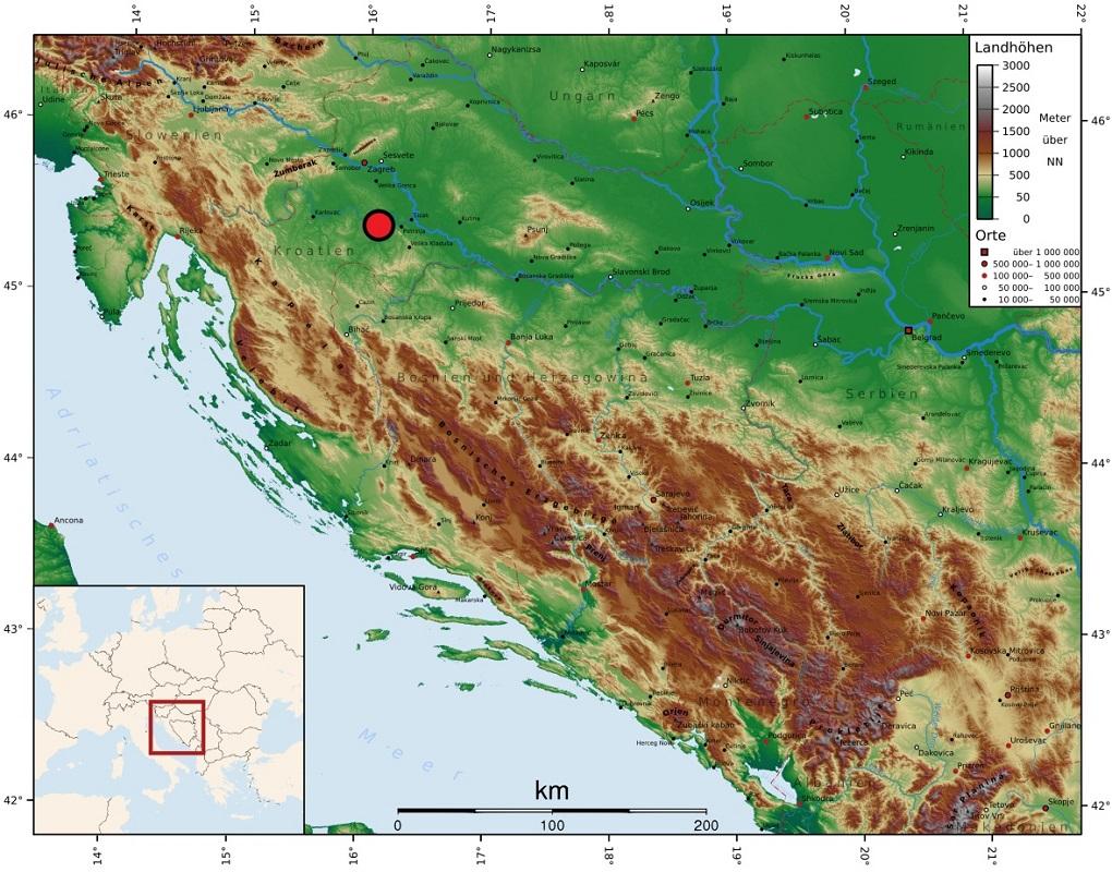 Croatia quake toll rises to seven, European Union announces help