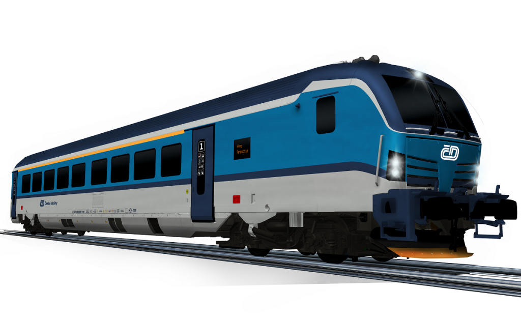 Czech Railways Orders 20 New High-Speed Trains For Use On International Lines