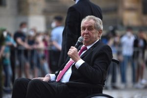 Senate Committee Proposes Removing President Zeman From Office