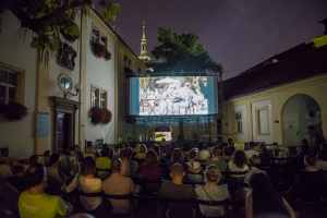 Open-Air Summer Cinema in Brno-Střed Town Hall Through July and August