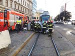 In Brief: Car and Tram Collision on Lidicka