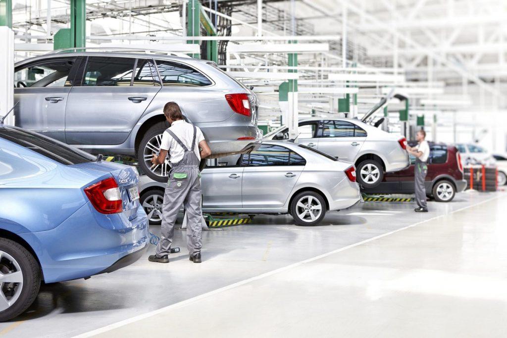 Škoda Auto Stops Production Due To Chip Shortage