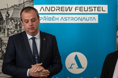 Andrew Feustel, NASA's American Astronaut, Visiting Brno (16)