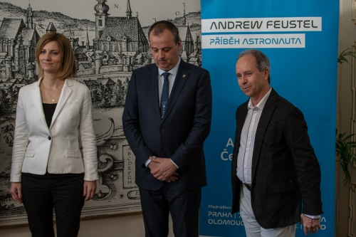 Andrew Feustel, NASA's American Astronaut, Visiting Brno (4)
